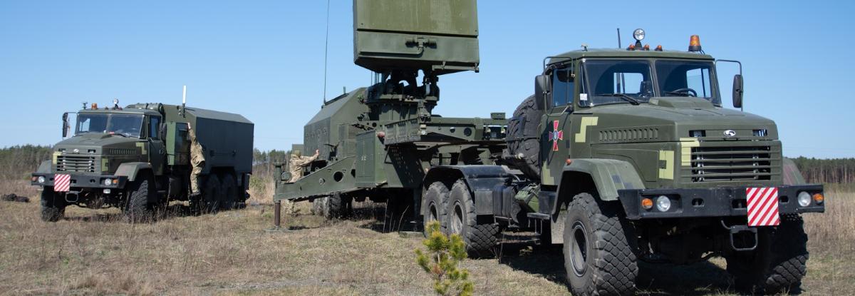КрАЗ поставив шасі для монтажу радіолокаційної техніки