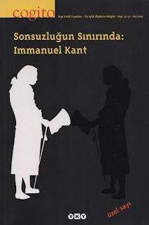 Cogito Dergisi Sayı 41-42 - Sonsuzluğun Sınırında: İmmanuel Kant