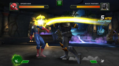 Screenshoot Game Marvel Contest Of Champios Mod Apk+Data Versi Terbaru