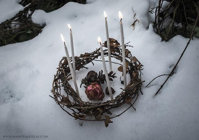 Mandragoreae Victoria Francés Pagan Sabbath Imbolc Ritual Oimelc Candlemas