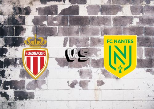 AS Monaco vs Nantes  Resumen