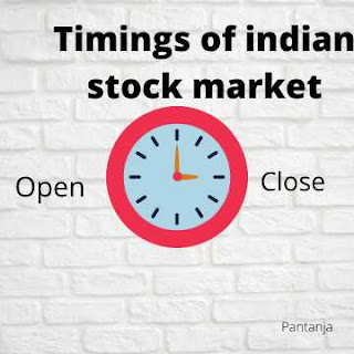 Stock market timing in india