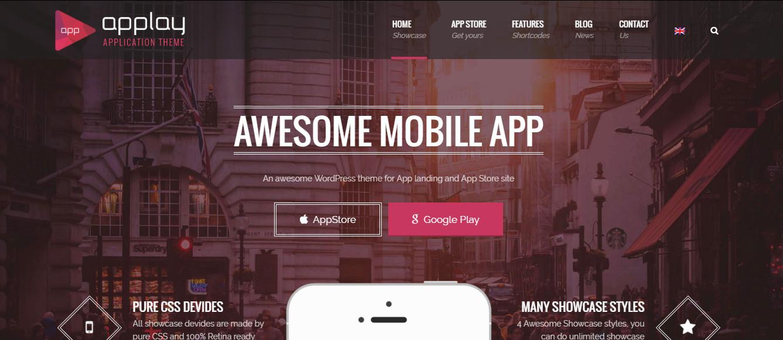 Applay-Multipurpose WordPress app theme