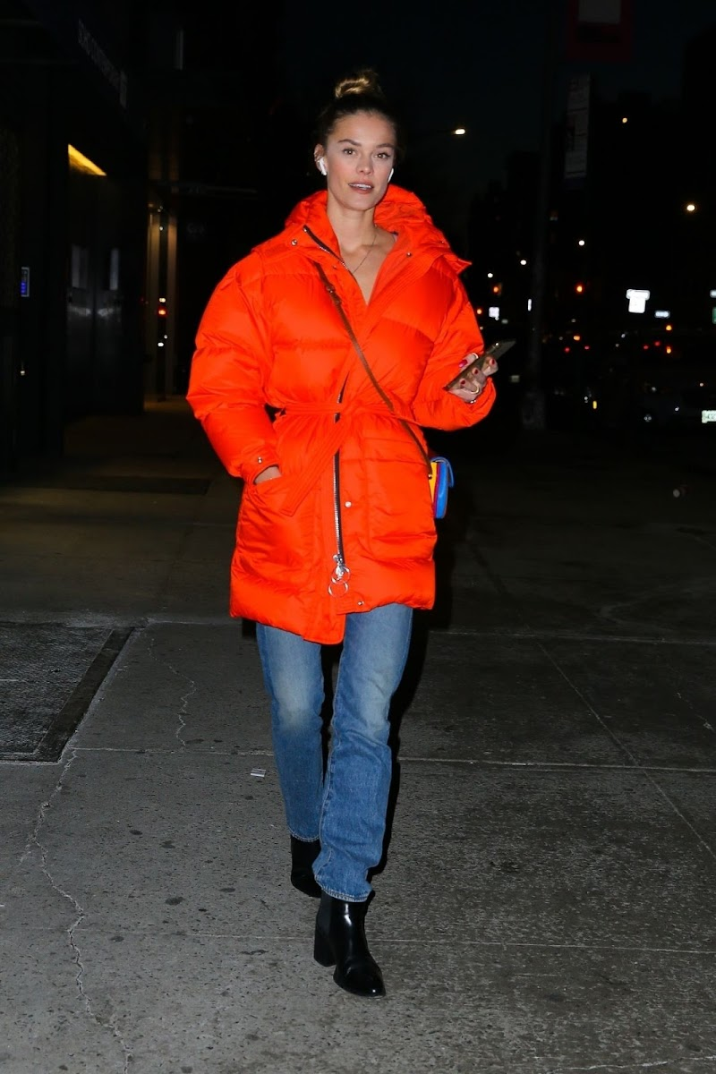 Nina Agdal Night Out in New York 20 Dec-2019