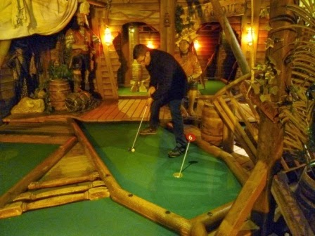 Minigolf in Whitby