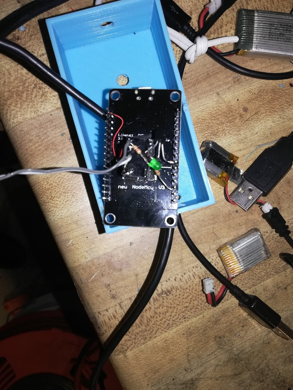 Engine Monitor: ESP8266 and MQTT