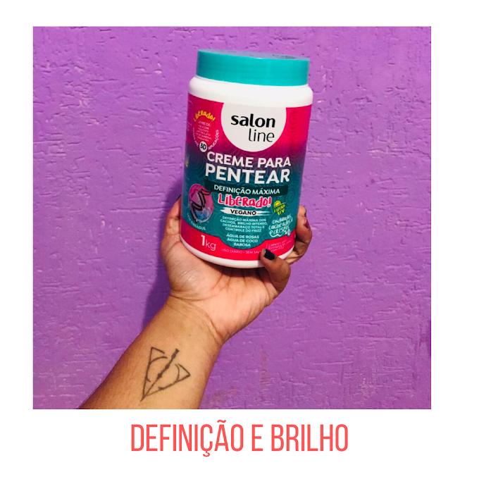 DEFINIÇÃO E BRILHO COM SALON LINE
