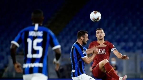 تقرير مباراة انتر ميلان ولاتسيو في الدوري الايطالي