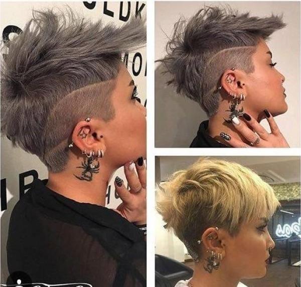 Ausgefallene Frisuren Mit Undercut Frisuren Trend 123