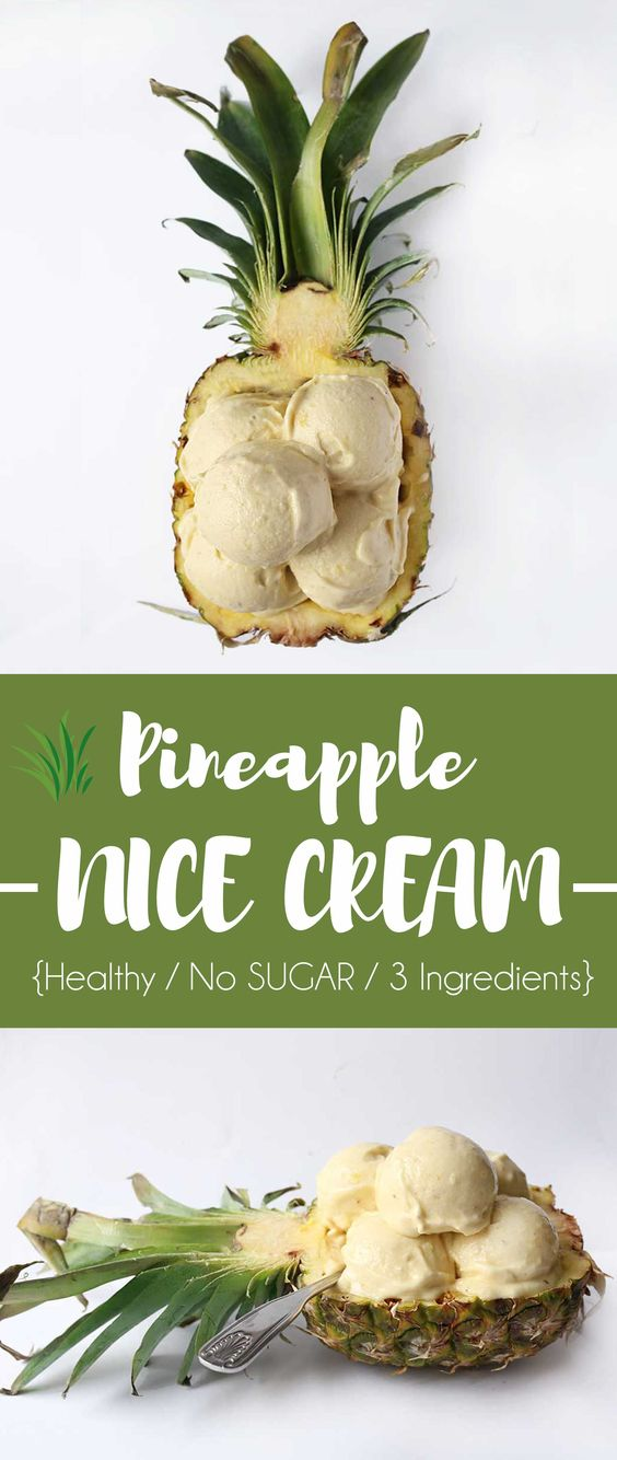 If there are still people who don't know about the easiest way to make Healthy Pineapple Banana Icecream this summer, here is the recipe!