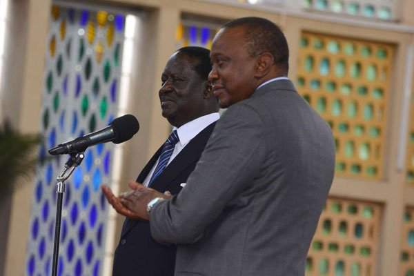 There Is No Corruption Uhuru & Raila Are Fighting, Except Fighting Individ'ls 2