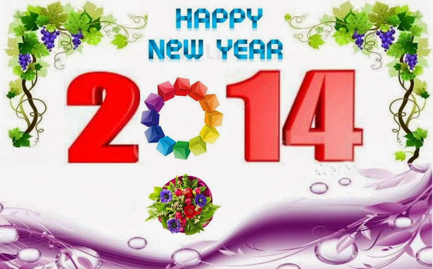 Welcome 2014 Happy New Year 2014