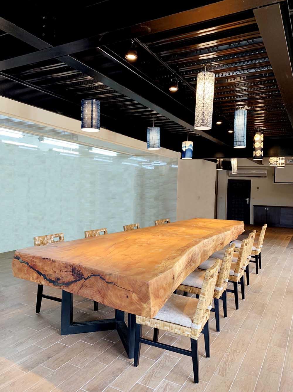 客製訂製原木桌