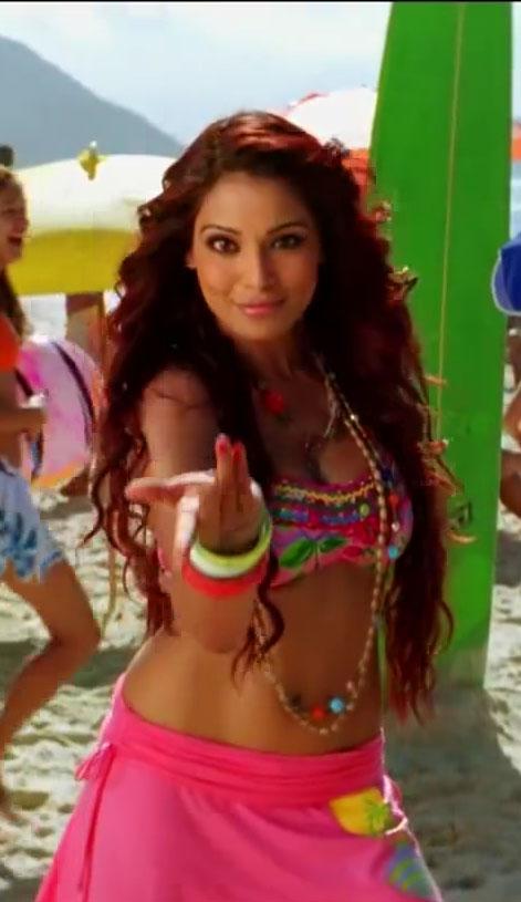 Bipasha Basu in red Bikini