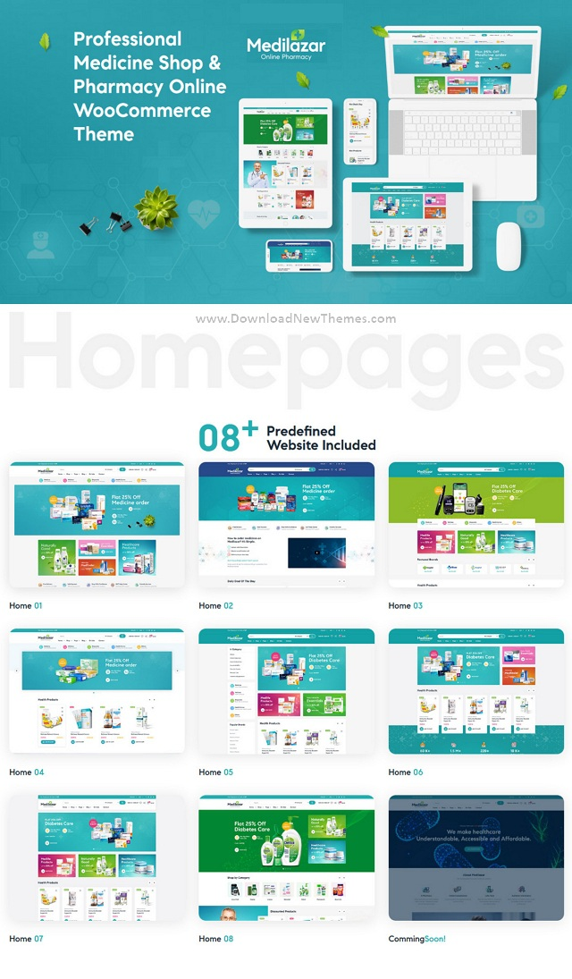 Pharmacy WooCommerce WordPress Theme