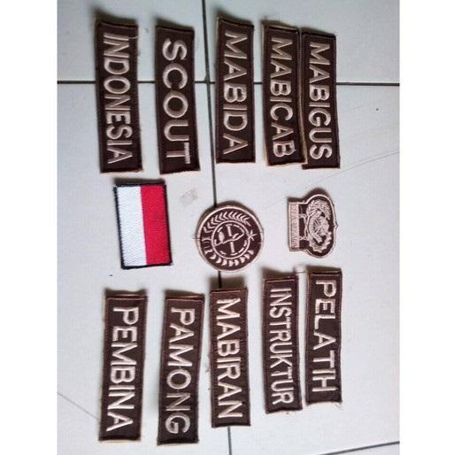 Badge Velcro Pramuka