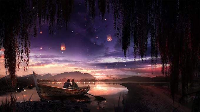 Papel de Parede Lindo Cenário Romantico
