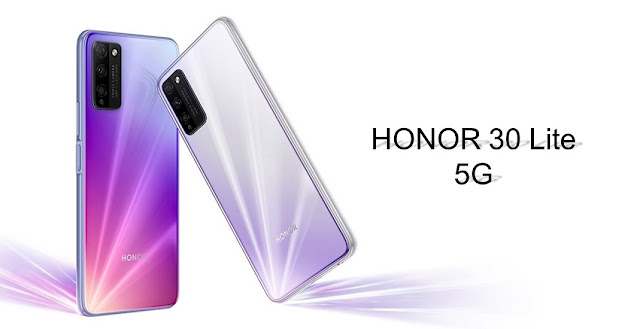 Honor 30 Lite Launched With 6.5inch FHD+ 90Hz Display, 8GB RAM, 5G & More