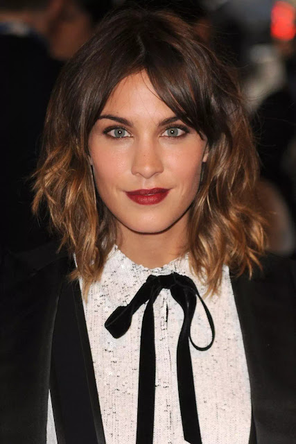 shoulder length ombre hairstyles