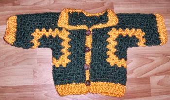 free crochet patterns- free crochet baby patterns--crochet -cardigan- sweater-pattern-free