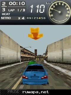 Need For Speed Most Wanted game ponsel Java jar