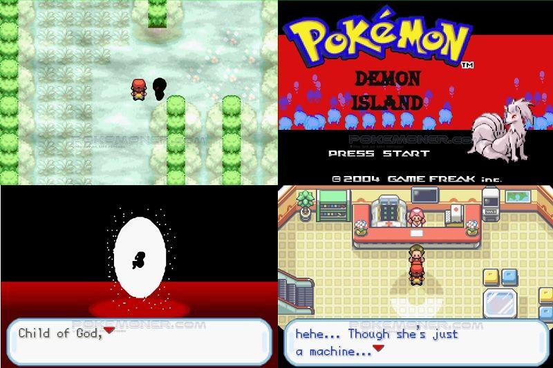 Pokemon Demon Island Screenshot 1
