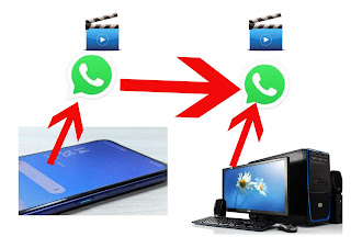 CARA MENGIRIM VIDEO DARI HP KE KOMPUTER MELALUI WhatsApp
