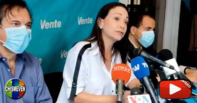 María Corina Machado denuncia que el régimen los está contactando para que participen en las fraudulentas