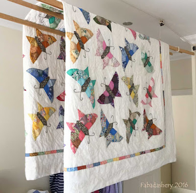 Wash Day - Butterfly Quilt