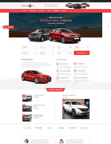 Theme blogspot dịch vụ cho thuê xe ô tô - Blogspotdep.com