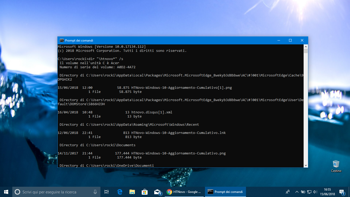 Come Cercare Velocemente In Windows 10 Con Prompt Dei Comandi