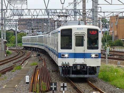 東武野田線 七光台行き 8000系