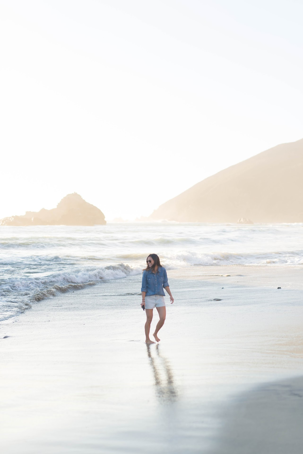 pfeiffer beach, big sur, photography, portraits, playing on the beach, photo ideas, central coast vacation, travel tips, itinerary, california travel blogger, lds mormon blogger, modest beach clothing