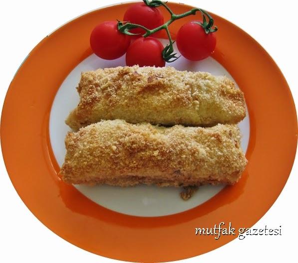 Fırında galeta unlu çıtır börek