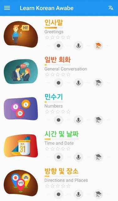 Learn Korean Daily - Awabe