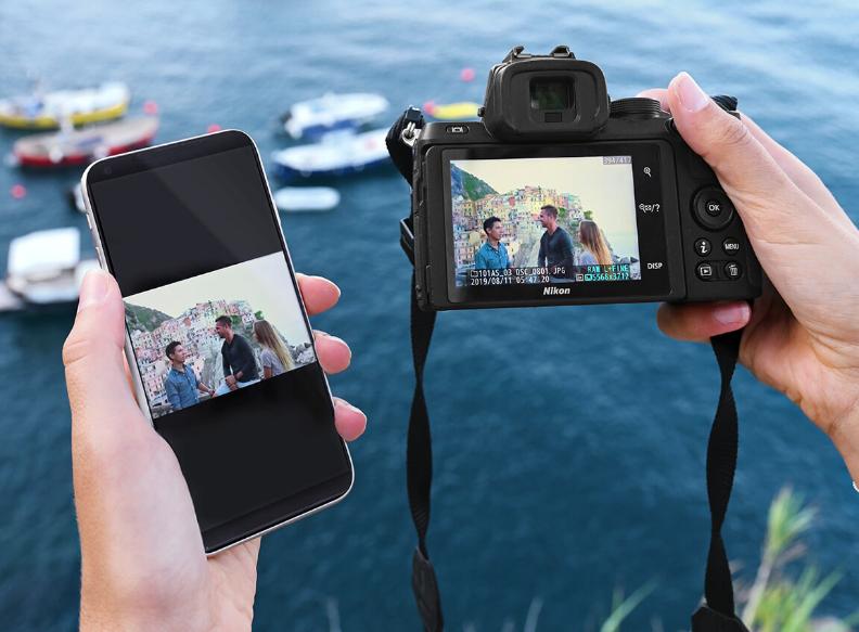 Управление Nikon Z50 через смартфон