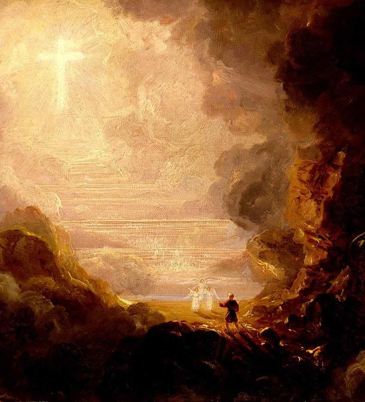 O peregrino no fim de sua jornada, Thomas Cole (1801 — 1848), Smithsonian American Art Museum