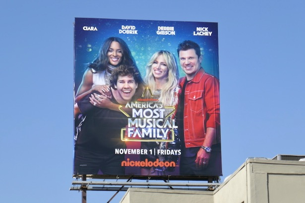 Americas Most Musical Family season 1 billboard