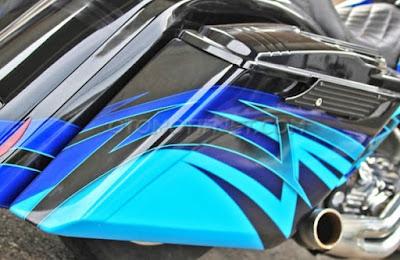 Modifikasi Harley-Davidson Street Glide 2003, Repair New Project