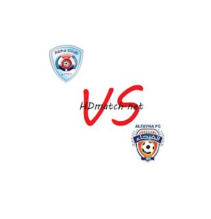 مشاهدة مباراة الفيحاء وأبها بث مباشر مشاهدة اون لاين اليوم 11-3-2020 بث مباشر الدوري السعودي يلا شوت al feiha vs abha