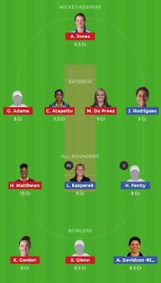 YD vs LL dream11 team | LT vs WS