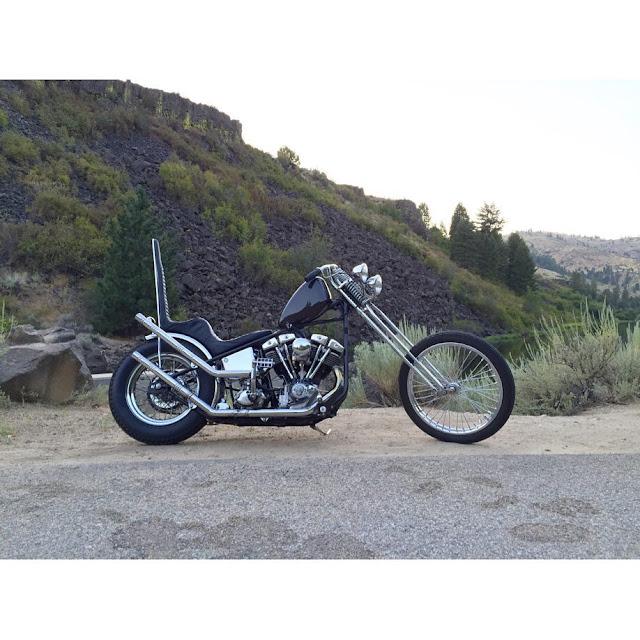 Harley Davidson Shovelhead 1980 By Wrecked Metals Hell Kustom