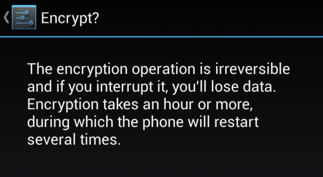 comment chiffrer crypter votre t l phone android r parer cl usb. Black Bedroom Furniture Sets. Home Design Ideas