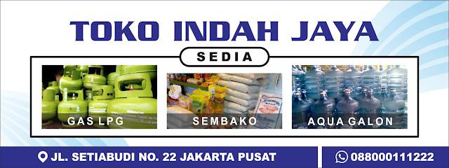 banner toko sembako
