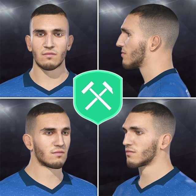 Nabil Bentaleb Face PES 2018