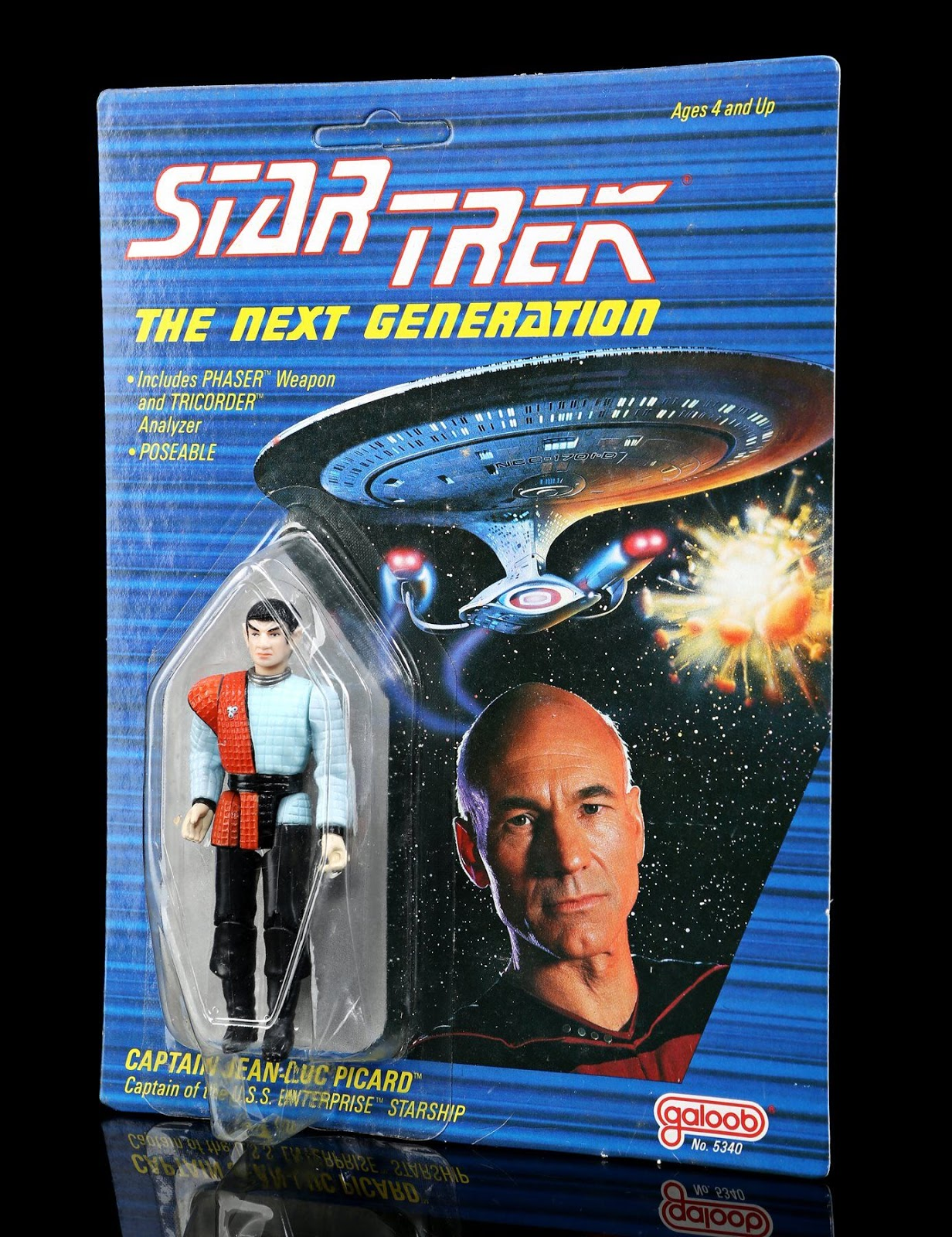 Picard Romulan Figure