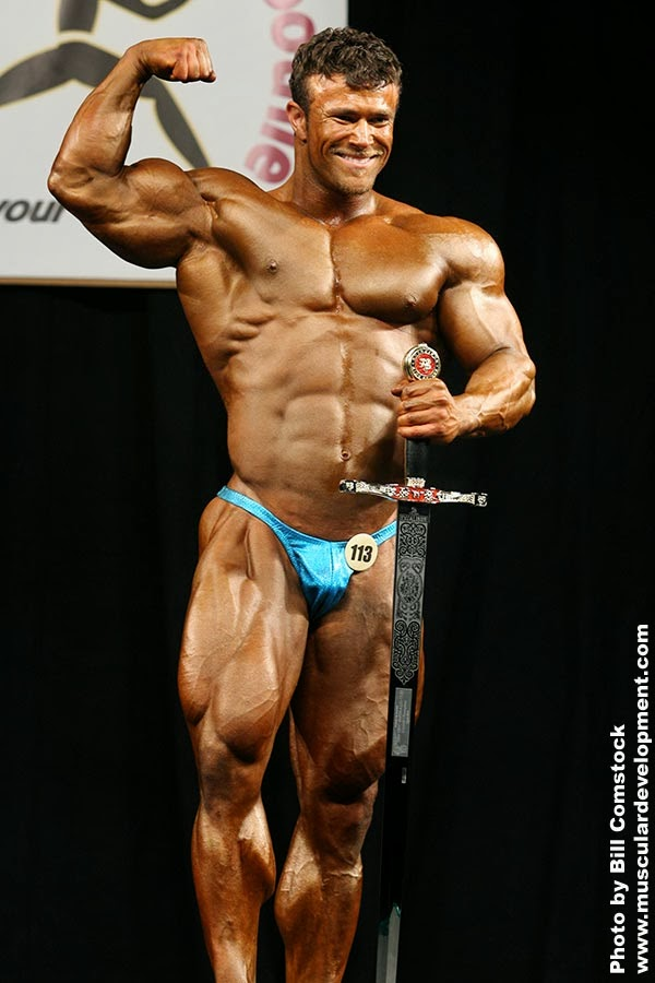 Former, Overall Emerald Cup Champion IFBB Pro Nate D'Tracy