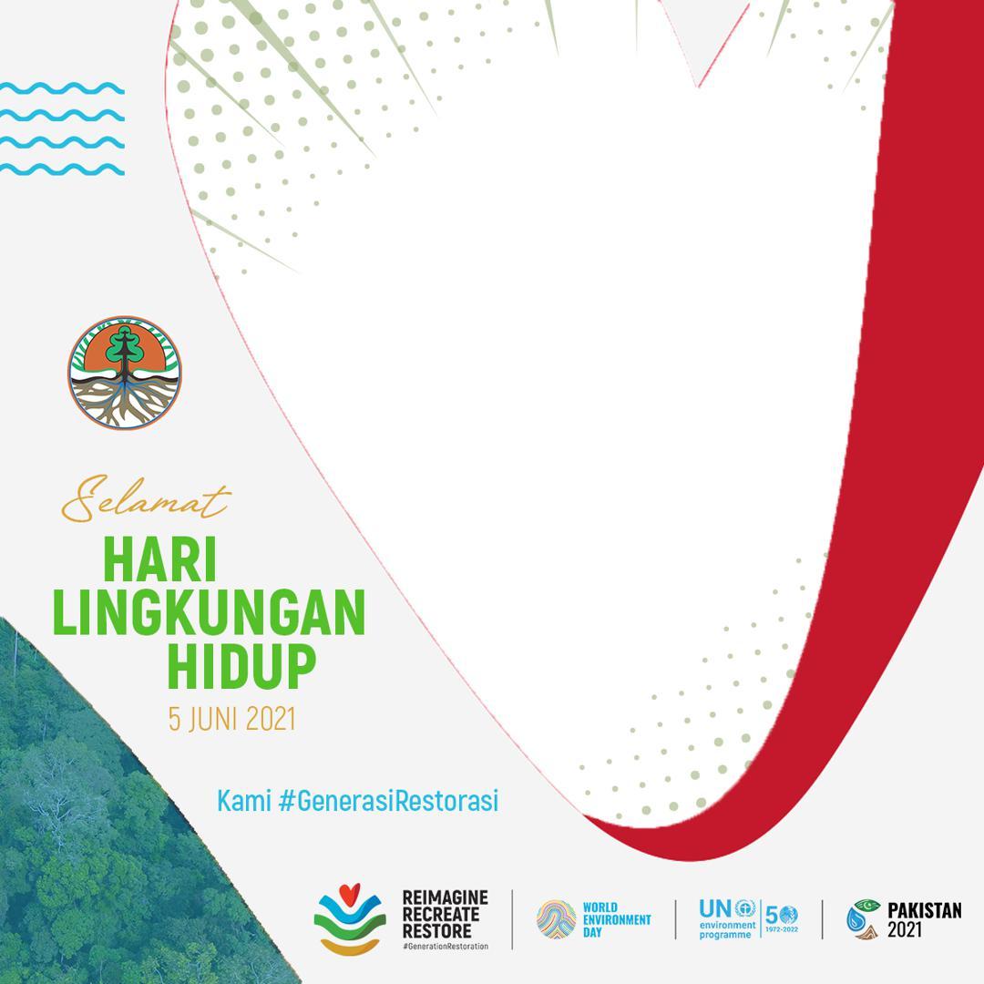 Link Download Bingkai Twibbon Selamat Hari Lingkungan Hidup Sedunia 2021 Kementrian LHK