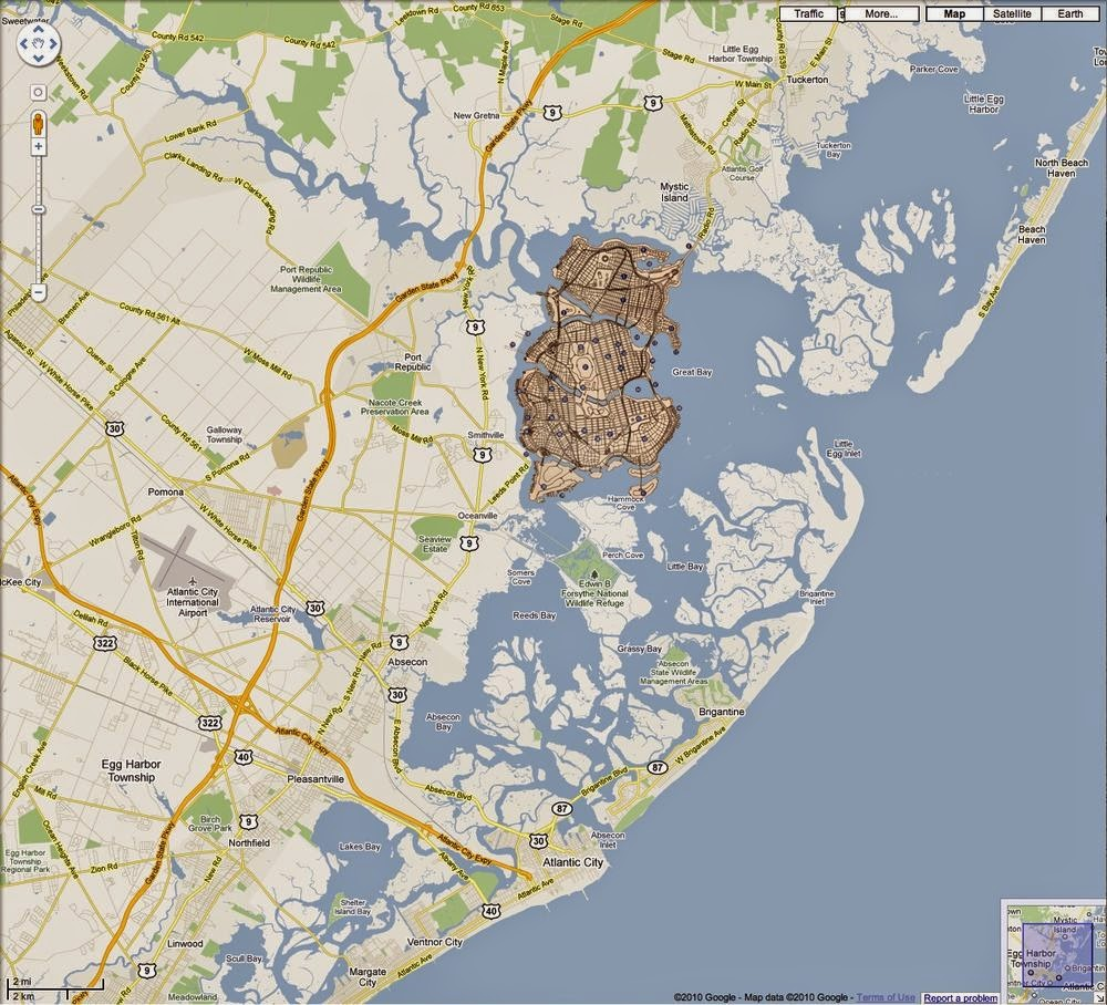 Map of the Week: Gotham City Mapped