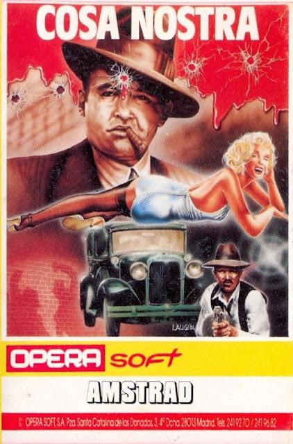 Portada videojuego Cosa Nostra - Opera Soft
